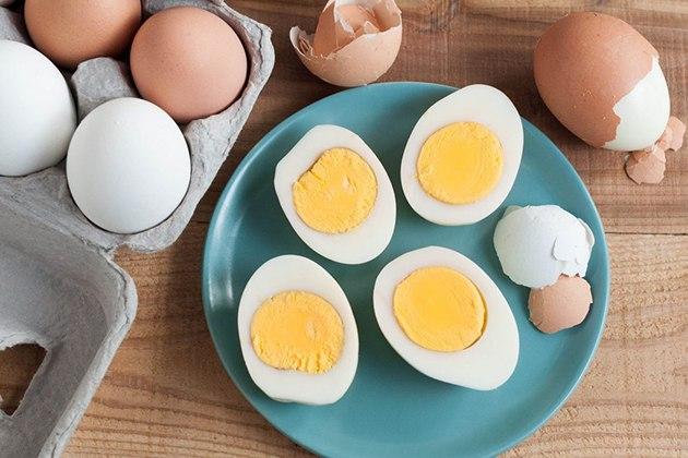 Ăn trứng gà trước khi tập Gym