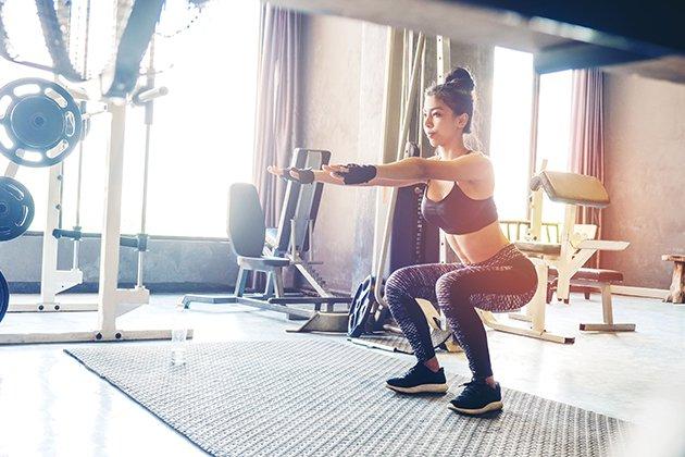 Lịch tập Gym 4 buổi 1 tuần cho người mới