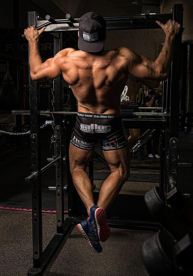 Tập xà đơn tăng cơ bắp