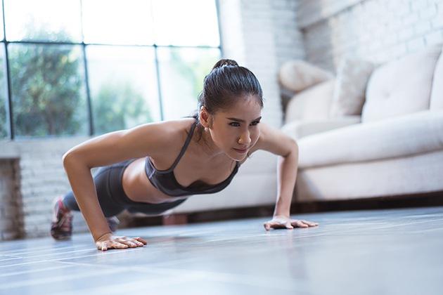 Hít đất giúp giảm stress