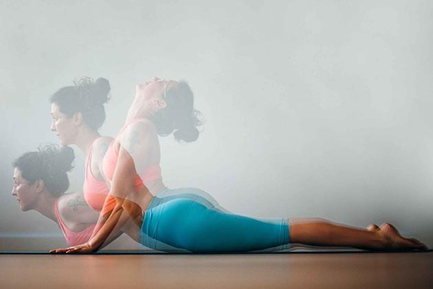Tư thế Yoga con rắn