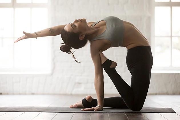 Yoga giúp cải thiện vóc dáng