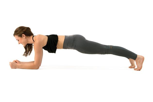 Bài tập bụng nhỏ Plank