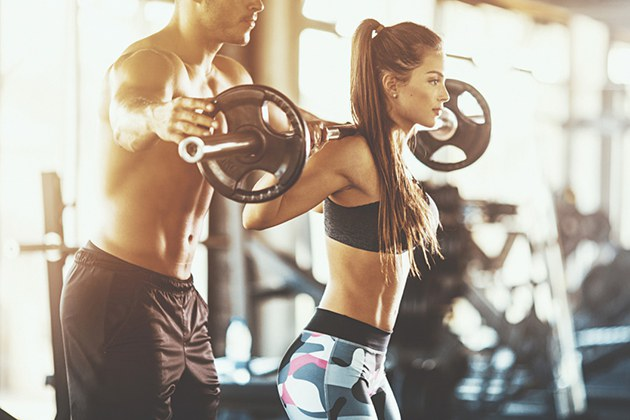 Cách tập Gym tăng cân