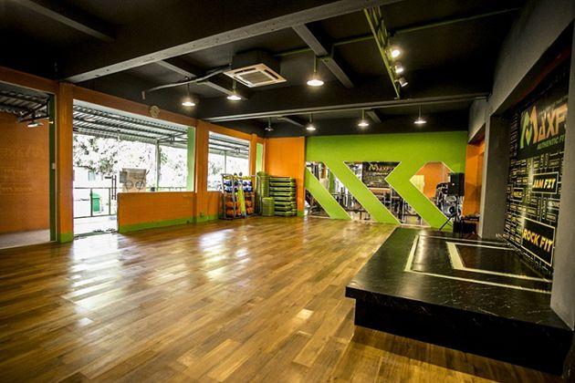Phòng tập Gym Maxfit
