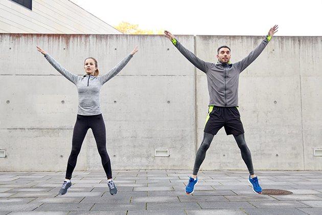 Bật nhảy tại chỗ tăng chiều cao