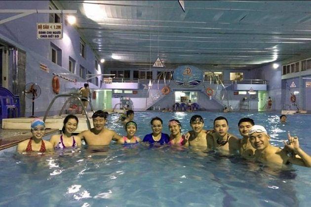 Bể bơi bốn mùa Tiến Đạt