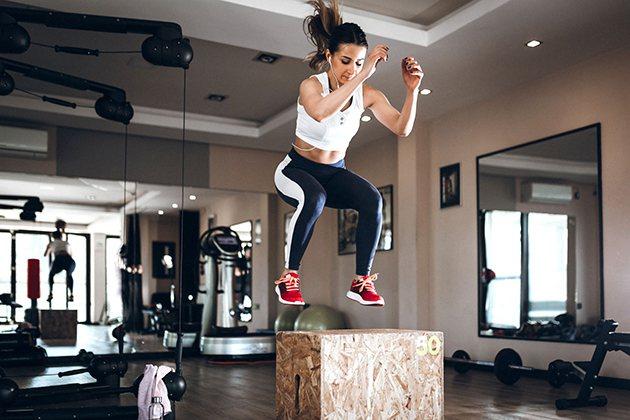 Bí quyết tập Gym không bị lùn