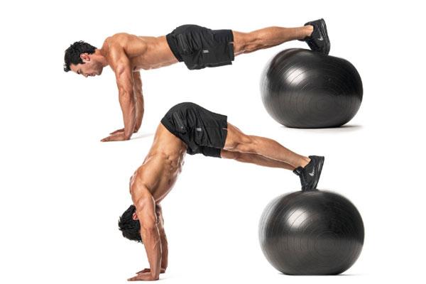 Bài tập Exercise Ball Pike
