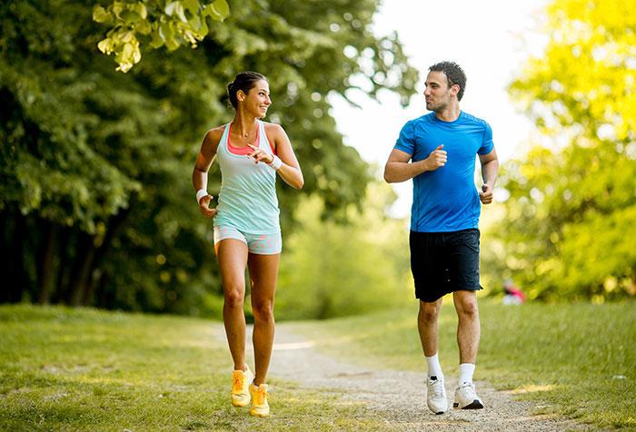 Chạy bộ giúp tinh thần vui vẻ