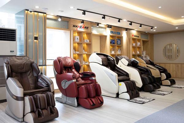 Chọn mua ghế massage cũ những thương hiệu nổi tiếng