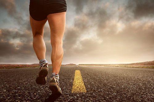 Mới bắt đầu hãy chạy trên mặt đường bằng phẳng
