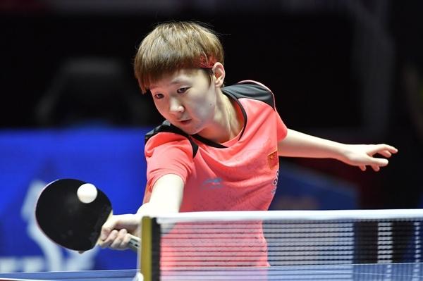 Tay vợt Wang Manyu